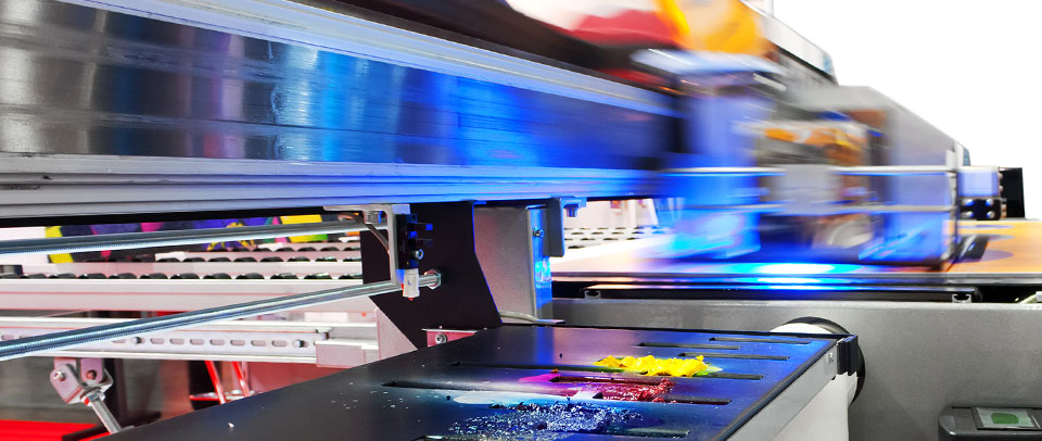 High speed digital printing with excellent turnaround and great results.