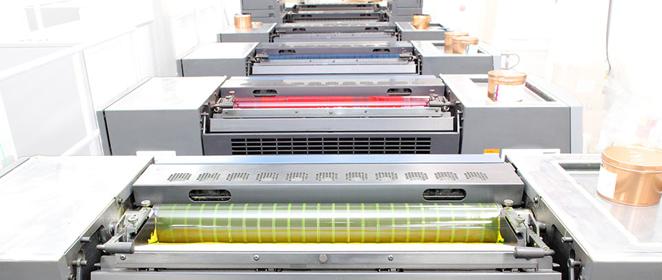 A range of print presses for the different print requirements.
